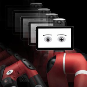 Robot collaboratif flexible
