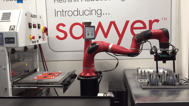 cobot sawyer assemblage packaging
