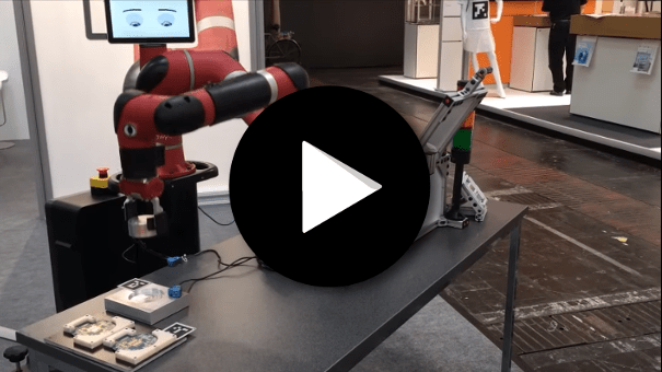 Cobot Sawyer - Chargement de machine