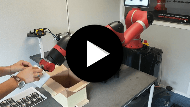Cobot Sawyer - Interaction Homme Robot