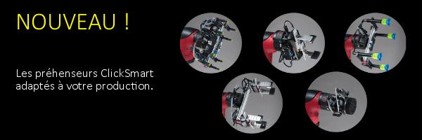 Préhenseurs clicksmart pour robot collaboratif Sawyer