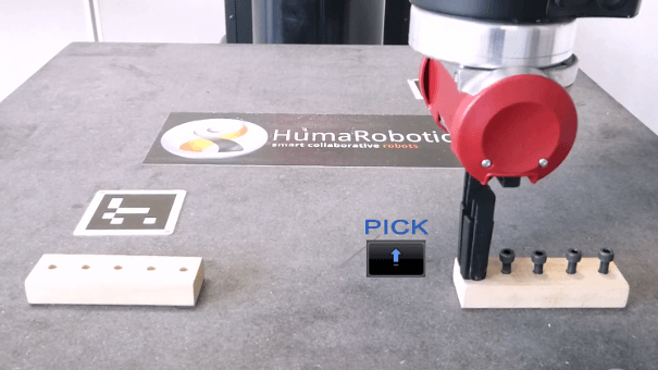 cobot sawyer tâche précision