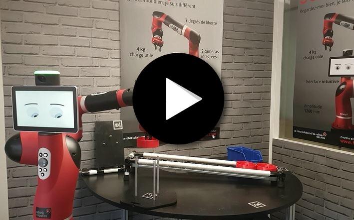 Cobot Sawyer – redéploiement flexible du robot