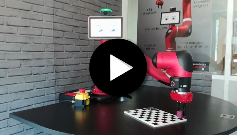 Cobot Sawyer – déploiement rapide du robot