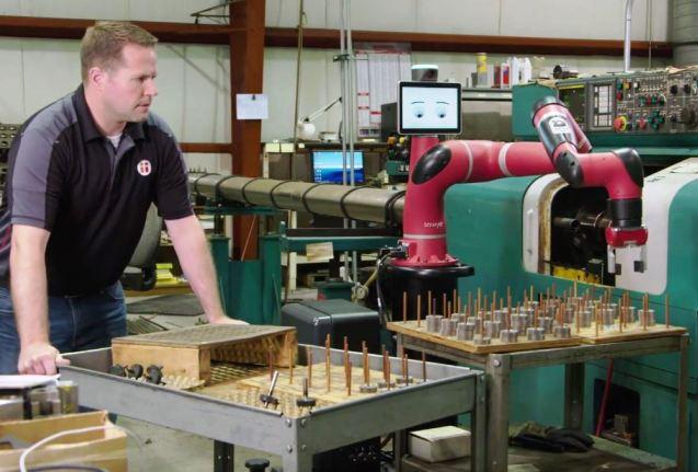 Automatisation rapide du cobot Sawyer de Rethink Robotics