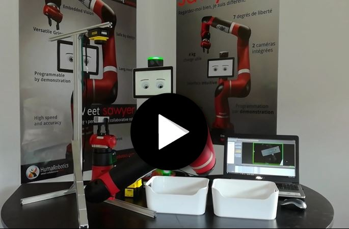 Salon SEPEM Industries - Application du cobot Sawyer