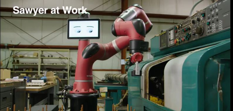 Automatiser sa machine CN grâce au robot collaboratif Sawyer