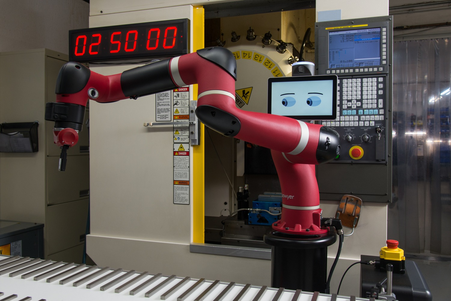 Success story - Le cobot Sawyer chez Tag Team Manufacturing