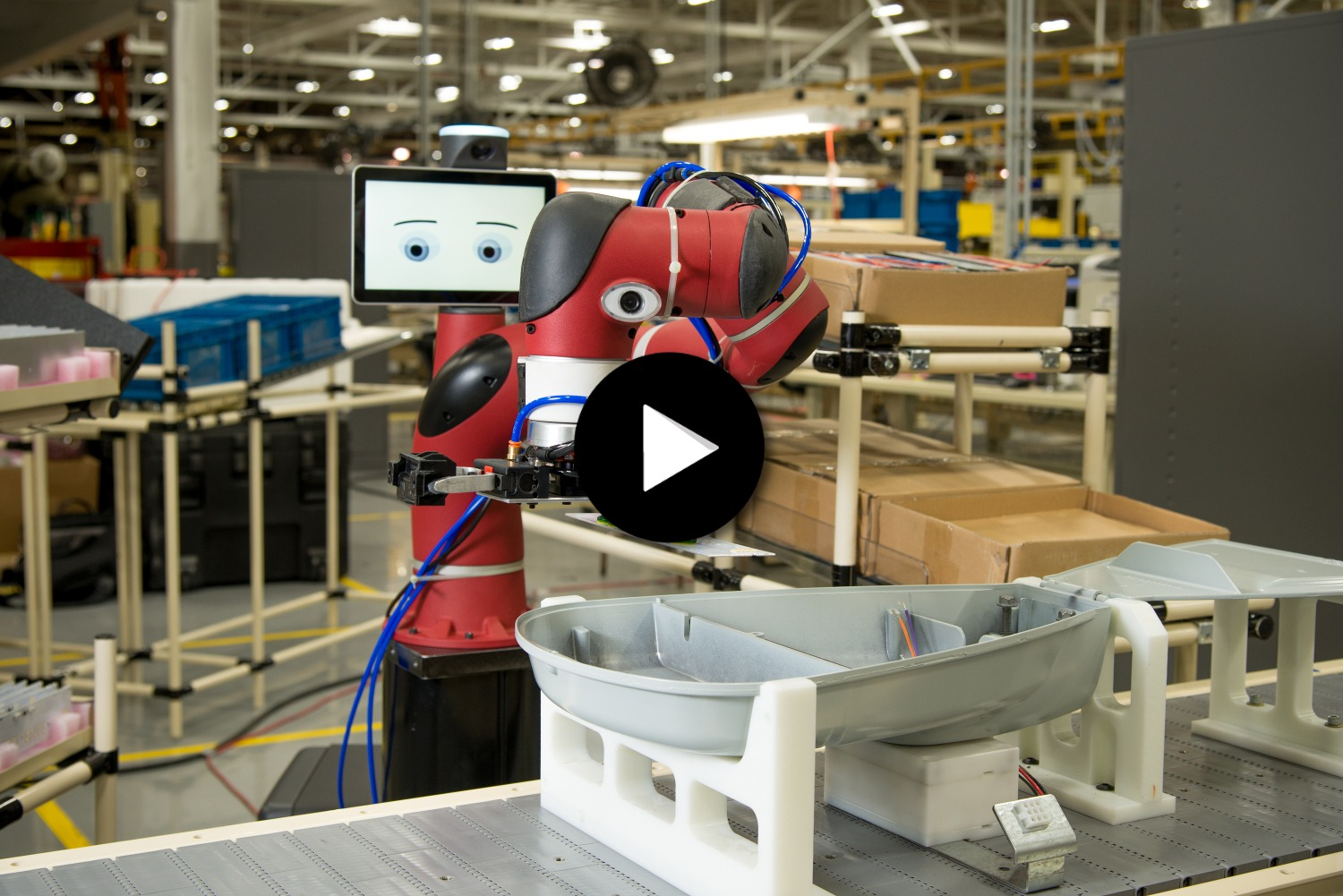 Success Story - Le cobot Sawyer chez General Electric
