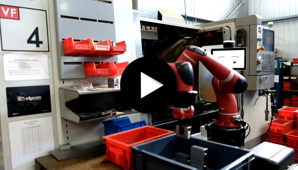 Cobot Sawyer – Manipulations sur machine CN Haas