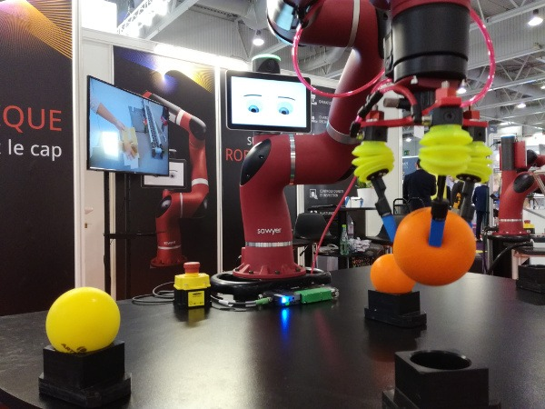 Smart Industries: Le robot collaboratif Sawyer utilise un PiGrab