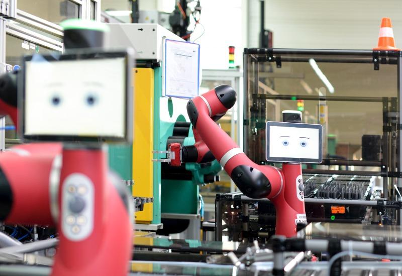 Moderniser nos usines - robot collaboratif Sawyer