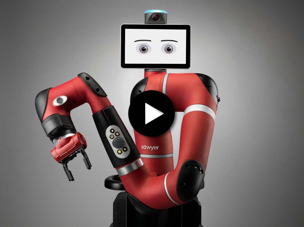 Robot Sawyer Vision détection pièces avec logo play