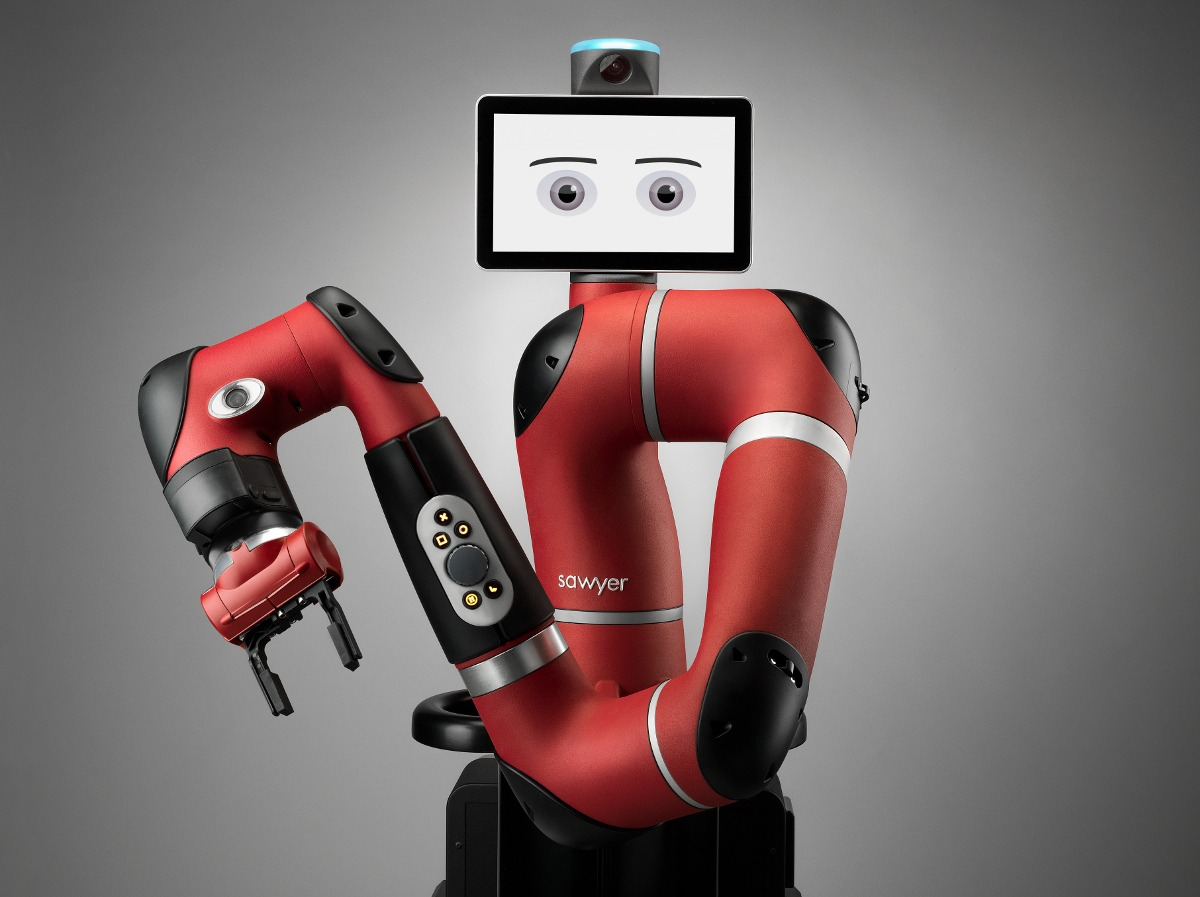 Robot Sawyer Vision détection pièces