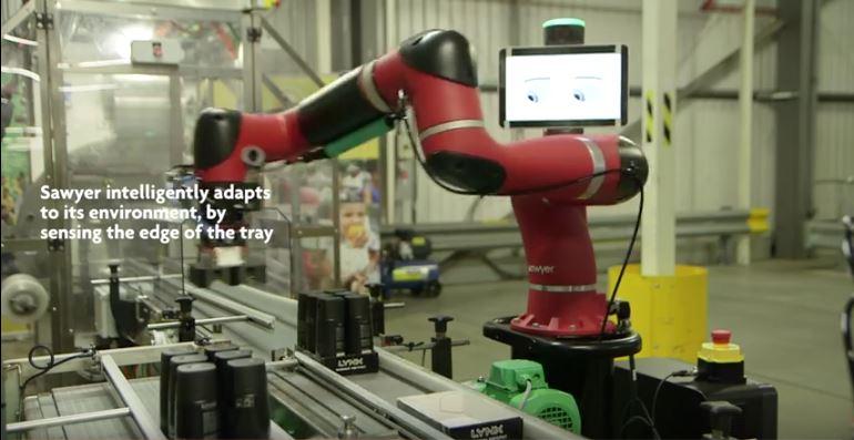 Les robots collaboratifs Sawyer chez DHL