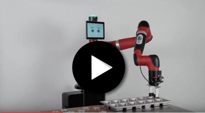 Robot collaboratif Sawyer force sensing