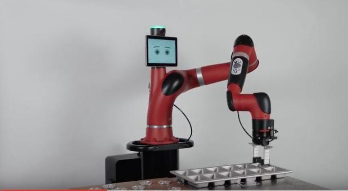 Robot Sawyer - prise vision et réalisation pattern