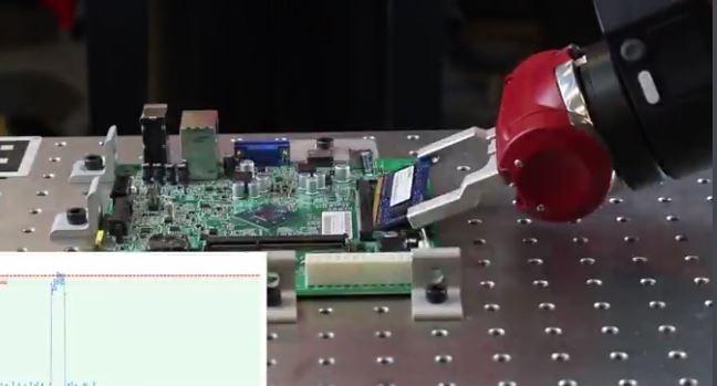 Robot SAWYER, gestion de la force et barrettes mémoires