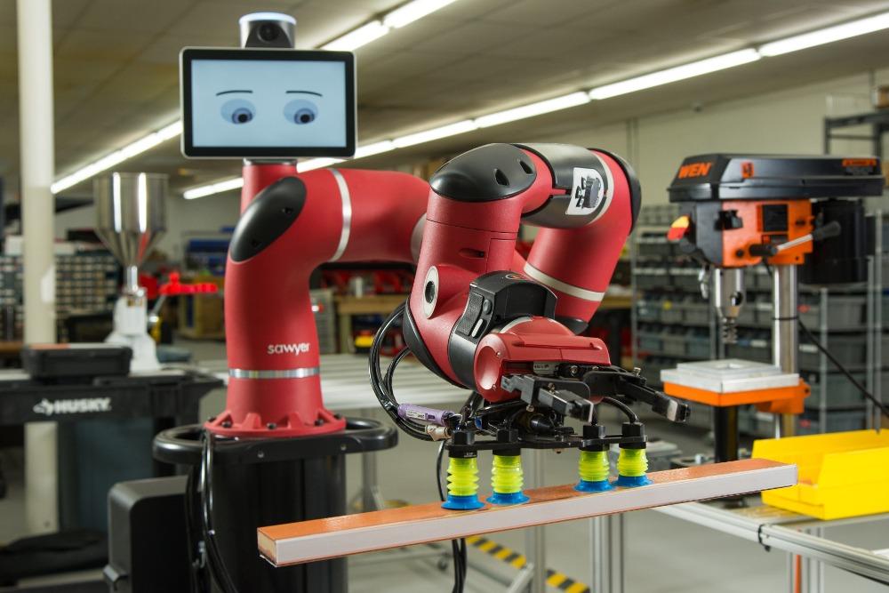 Robot collaboratif SAWYER chez Acorn