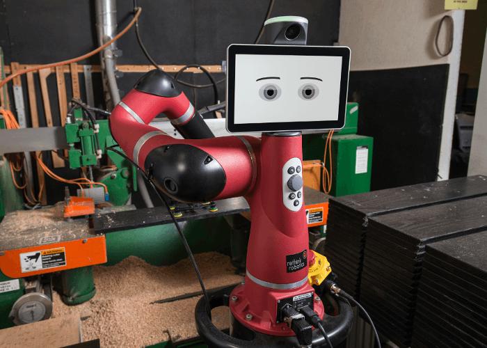Robot collaboratif SAWYER intégre le site de production
