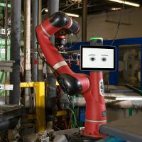 robot sawyer dans une entreprise de moulage par injection plastique