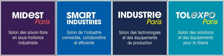 smart industries - rassemblement 4 salons majeurs industriels