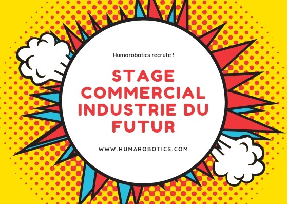 Humarobotics recrute - stage commercial