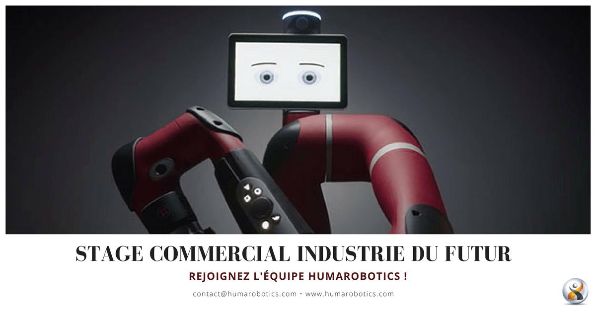 Humarobotics - stage Commercial industrie du futur