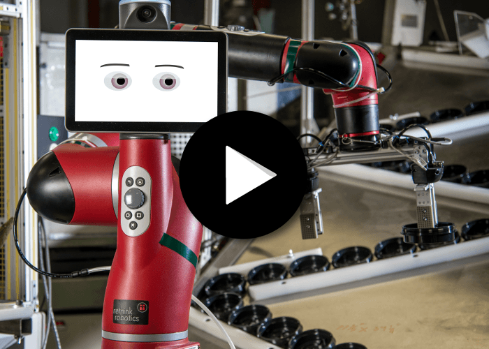 Robot collaboratif Sawyer, ASM Assembly Systems