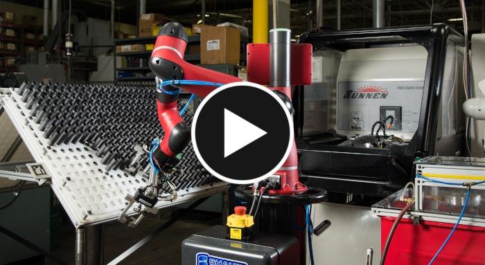 Robot collaboratif Sawyer, Fitzpatrick, usinage