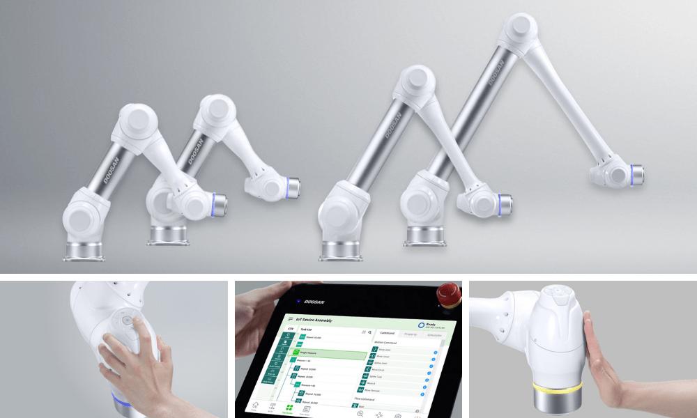 Robots collaboratifs Doosan Robotics