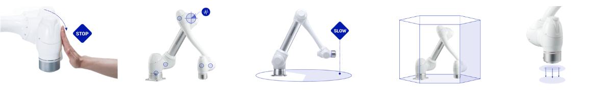 Sécurité des robots collaboratifs Doosan Robotics