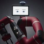 Robot collaboratif Sawyer disponible à la commande