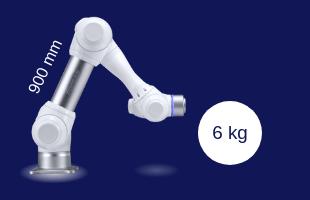 Robot collaboratif Doosan Robotics M0609