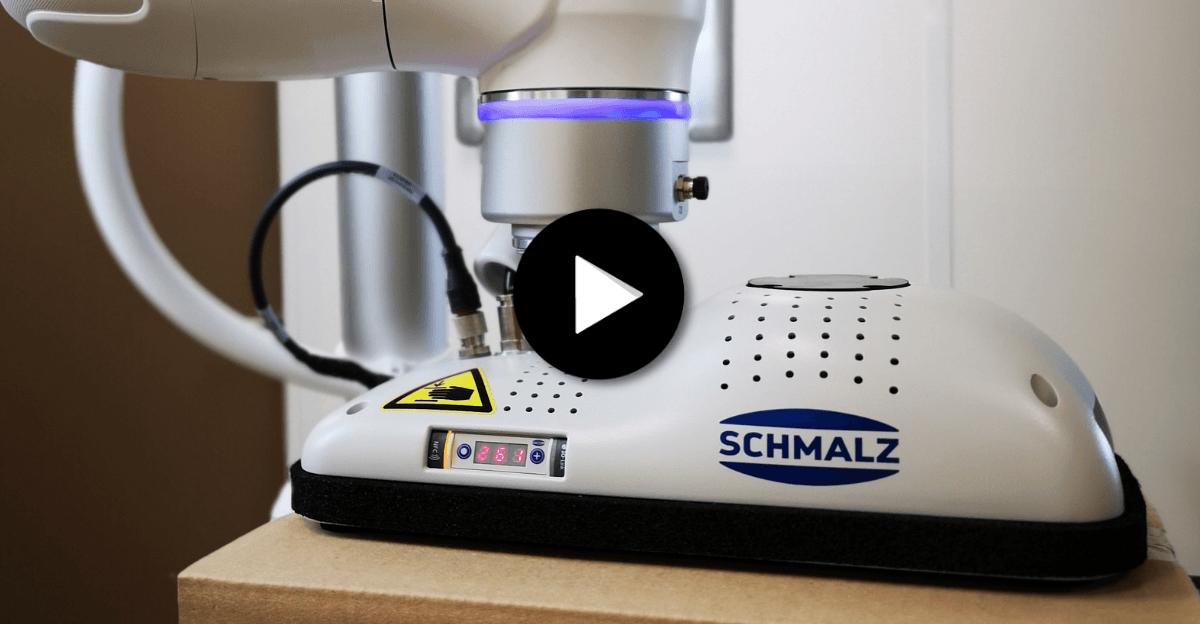 HumaRobotics a testé pour vous le préhenseur FXCB Schmalz