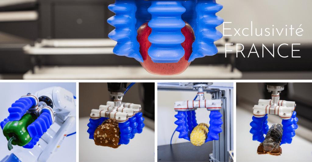 Partenariat soft robotics et HumaRobotics