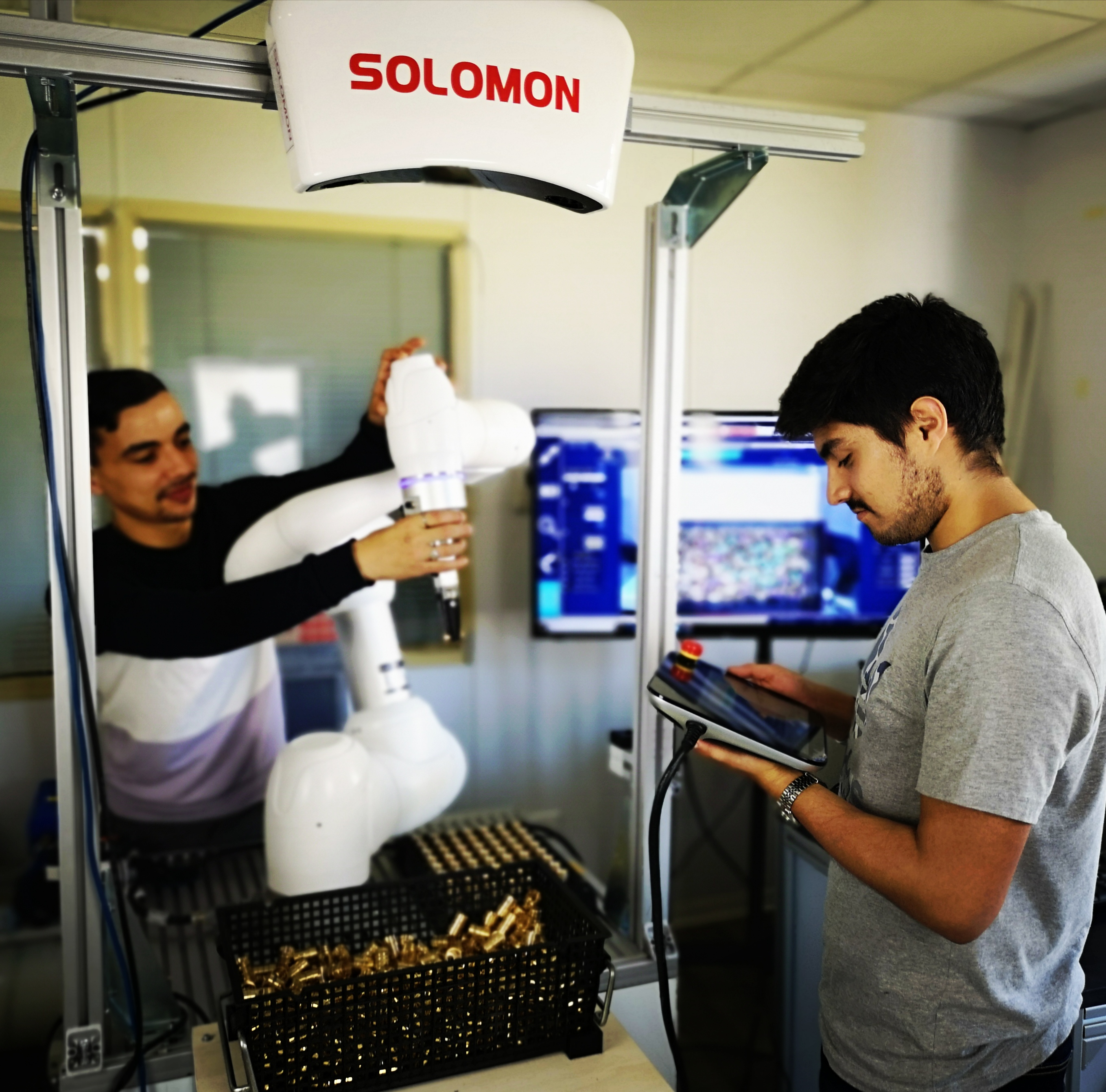 Solution Solomon Vision 3D avec deep learning