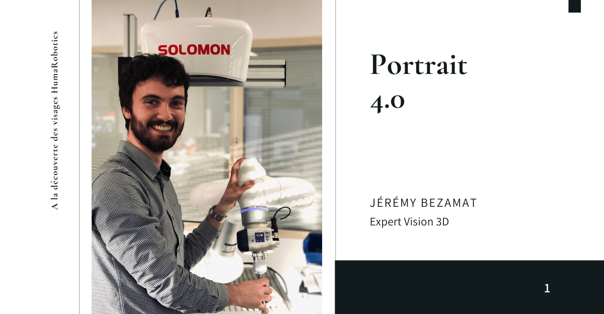 Portrait Jérémy Bezamat expert vision 3D HumaRobotics